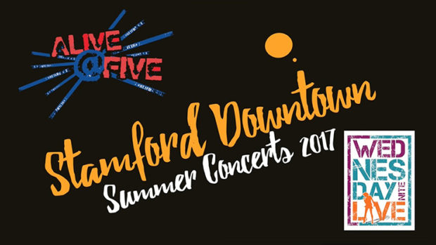 Stamford Downtown Summer Concerts 2017 -  Wednesday & Thursday Nights