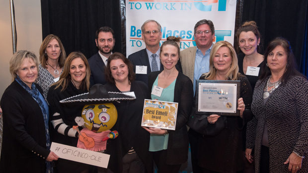 5th Year: OFI Among Best Places to Work