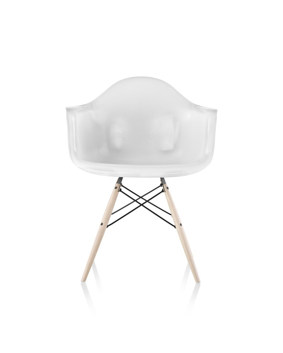 eames molded fiberglass chairs